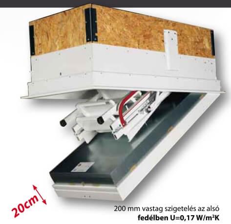 GM-4 Isotec 200 padláslépcső 2