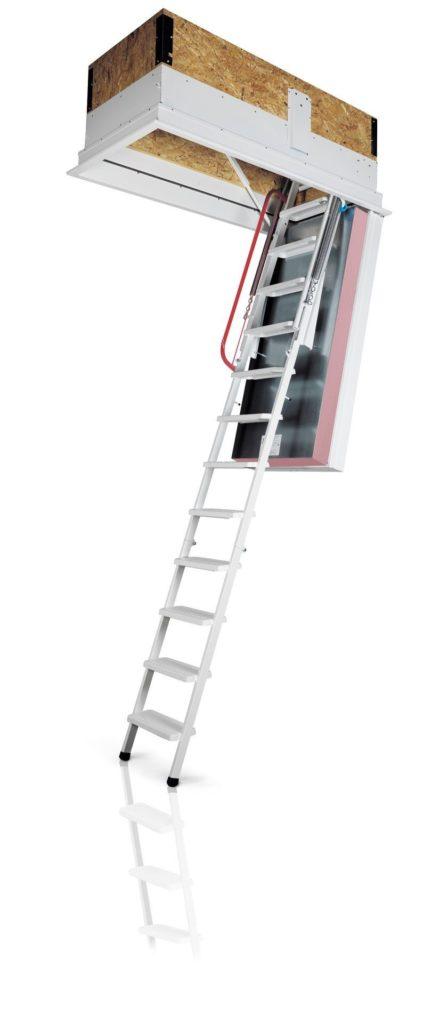 Elektromos padlásfeljáró Mocsárosdűlő